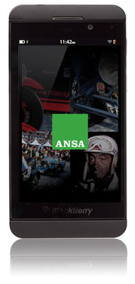 ANSA.it sul tuo BlackBerry