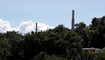The Arecibo Observatory collapses in Puerto Rico (ANSA)