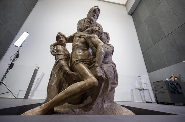 The Deposition (The Florentine Pieta) by Michelangelo in Florence © EPA