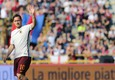 AS Roma's Francesco Totti during the Italian Serie A soccer match Bologna Fc vs As Roma at