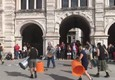 Stomp arriva a Trieste, flash mob artisti in piazza (ANSA)