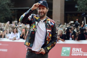 Italian singer Lorenzo Jovanotti Cherubini arrives for a premiere at the 11th annual Rome Film Festival, in Rome, Italy, 16 October 2016. The festival  running from 13 to 23 October. ANSA/CLAUDIO ONORATI (ANSA)