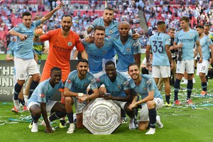 Manchester City vince Community Shield (ANSA)