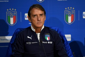 Italy's head coach Roberto Mancini attends a press conference in Coverciano, Florence, Italy, 11 November 2019 (ANSA)