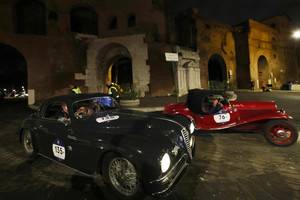 Historical 'Mille Miglia' vintage car rally (ANSA)