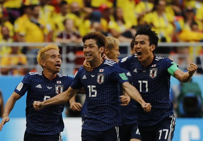 Russia Soccer WCup Colombia Japan (ANSA)