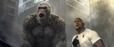 Film Review Rampage © AP