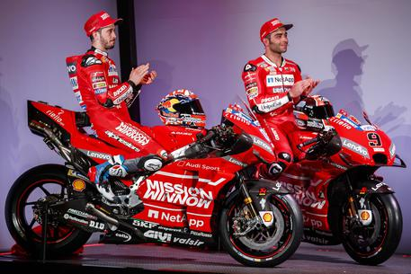 Ducati MotoGP 2019 Team Launch © EPA