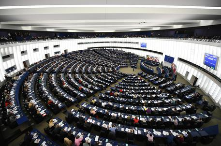European Parliament in Strasbourg passes copyright reform law © EPA