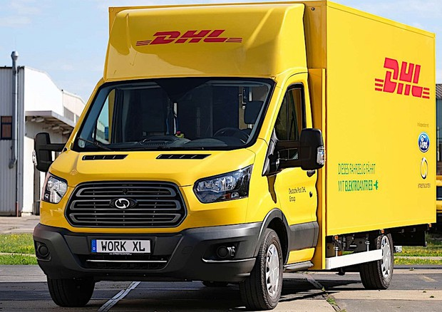 Nasce su base Ford Transit l'elettrico StreetScooter Work XL © StreetScooter