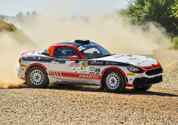 Nel week end Abarth protagonista del Rally Roma Capitale (ANSA)