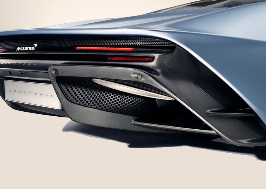Speedtail, follia McLaren con 1050 Cv e carrozzeria animata ©