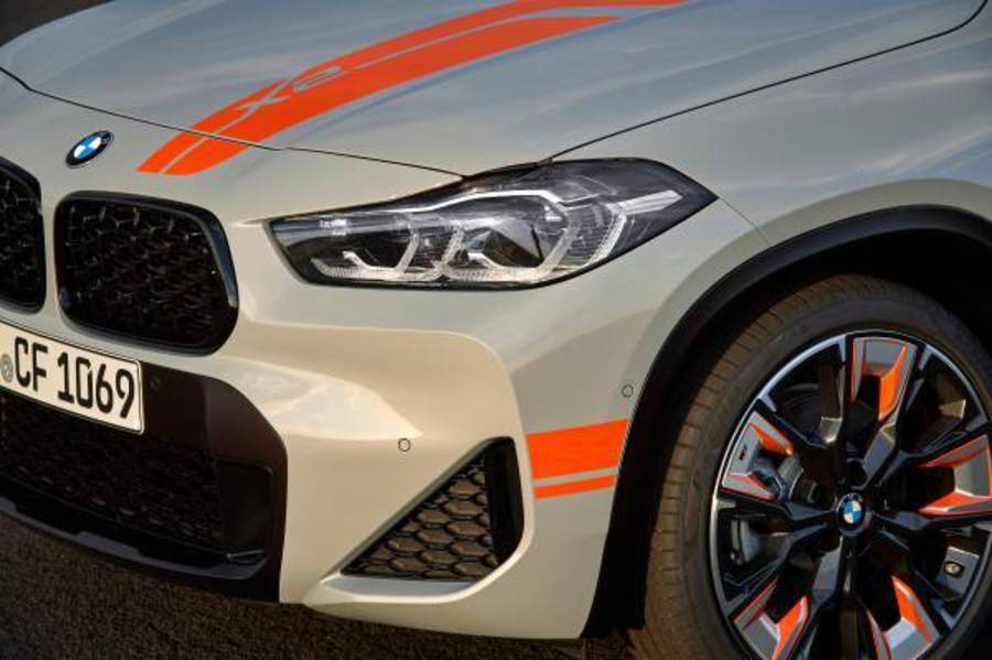 BMW X2 M Mesh Edition © Ansa