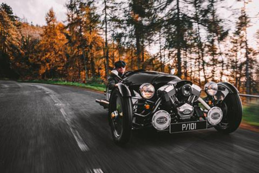 Morgan 3 Wheeler © Ansa